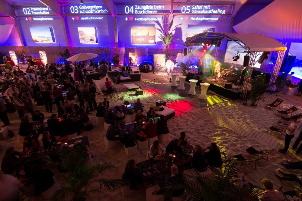 Veranstaltung im Indoor Beach Center Berlin
