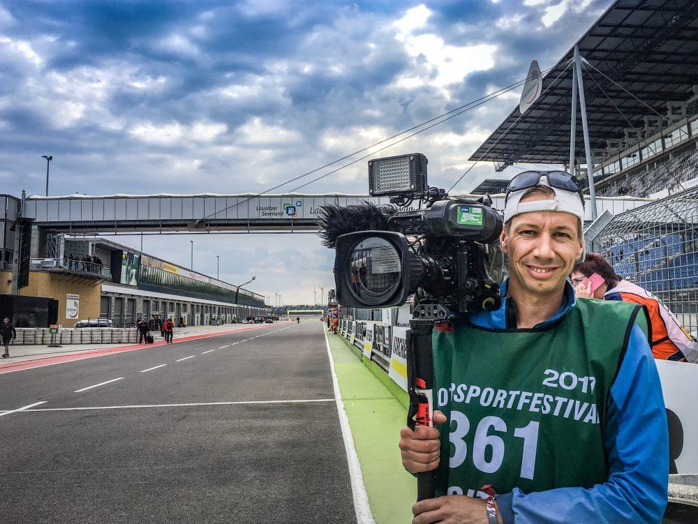 Kameramann Sport1 GT Masters Magazin